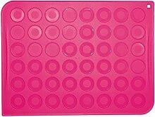 Unbekannt SCRAPCOOKING 3170Teppich für Macarons Silikon Rosa 30x 40cm