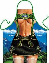 Unbekannt Set - Fun Grillschürze: Alpengirl -