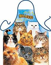 Unbekannt Set - Fun Grillschürze: Cats -