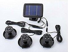Unbekannt Solar Teichbeleuchtung mit Solarpanel