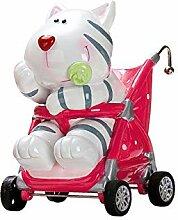 Unbekannt Spardose Cooler Kinderwagen mit