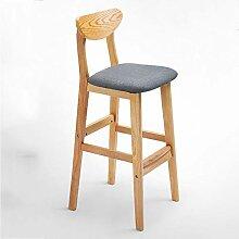 Unbekannt Stehtisch Stuhl Massivholz Barhocker