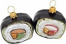 Unbekannt Sushi Christbaumschmuck Weihnachten Glas