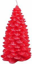Unbekannt Tannenbaumkerze 18cm Weihnachtskerze