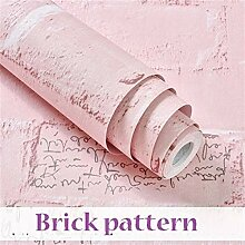 Unbekannt Tapetenkleister Mädchen-rosa Schal und
