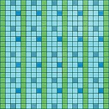 Unbekannt Taufe Papier 30,5x 30,5cm -peaceful Waters 25pro Pack Schwimmbecken blau