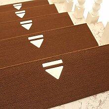 Unbekannt Teppich Waschbare Treppe Teppich Indoor
