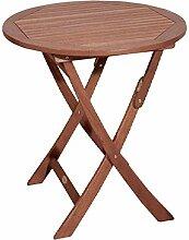 Unbekannt Tisch Stockholm rund Ø70 cm Eukalyptus