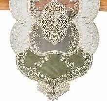 Unbekannt Tischläufer Dekorative gestickte Hohle