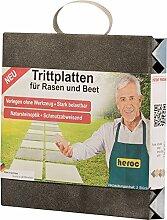 Unbekannt Trittplatte Schiefer, 30 x 30 x 5,5cm,