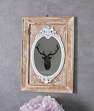 Unbekannt Wandspiegel Shabby Chic Spiegel