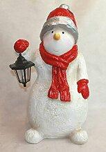 Unbekannt Weihnachtsdeko Großer Schneemann mit