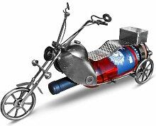 Unbekannt Weinflaschenhalter Motorrad als