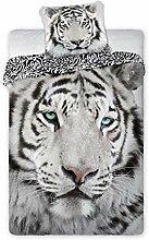 Unbekannt Wild Tiger Wende - Bettwaesche, 2-teilig