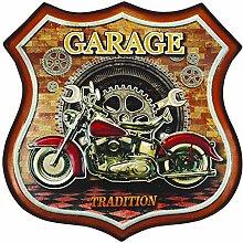 Unbekannt ZEP yy270Kentucky Dekoration Wandtattoo Design Wappen Garage Tradition Metall braun/rot/schwarz/orange/weiß