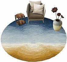 Unbekannt ZHIRONG Nordischen Stil Runde Teppich