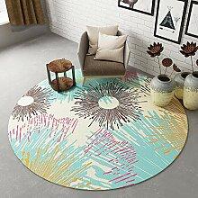 Unbekannt ZHIRONG Runde Teppich Wohnzimmer