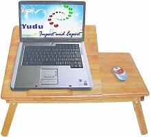 unberkant Bambus Laptoptisch Pflegetisch Betttisch