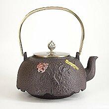 Unbeschichtet Wasserkocher Gusseisen Teekanne