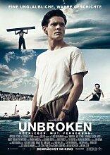 Unbroken – Deutsche Film Poster Plakat Drucken