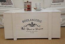 Uncle Joe´s Truhe Boulangerie Couchtisch
