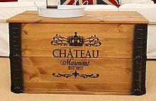 Uncle Joe´s Truhe Chateau Couchtisch Truhentisch