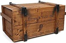 Uncle Joe´s Truhe Holzkiste Roosevelt Field, 98 x