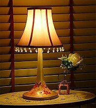 Uncle Sam LI- Koreanischen Garten Eisen gemalt Tischlampe Tischlampe Schlafzimmer Nachttischlampe schmiede, Mini-Lampe