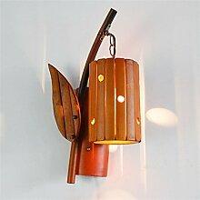 Uncle Sam LI - Kreative Hirten Bambus Wand Lampe,