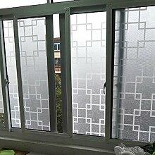 Undurchsichtige fensteraufkleber,Schlafzimmer blackout sonnenschutz glas folie für bad fensteraufkleber gefrostet wandtattoo-C 80x150cm(31x59inch)