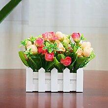 Unechte Blumen Plastikblumen, Silk Flower Bouquet