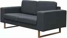 UnfadeMemory 2-Sitzer-Sofa Loungesofa Stoffsofa