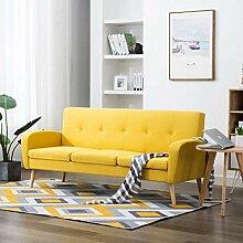 UnfadeMemory 3-Sitzer-Sofa Stoff Loungesofa