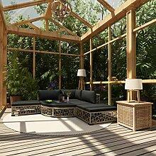 UnfadeMemory Garten-Lounge-Set Gartenmöbel