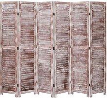 UnfadeMemory Holz Paravent Raumteiler