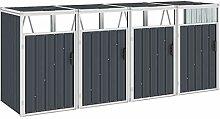 UnfadeMemory Mülltonnenbox Stahl