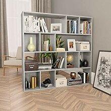 UnfadeMemory Raumteiler/Bücherregal Spanplatte