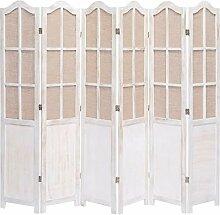 UnfadeMemory Raumteiler Paravent Holzrahmen