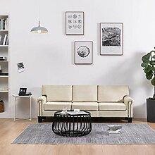 UnfadeMemory Wohnzimmer Sofa Stoffsofa MDF-Rahmen
