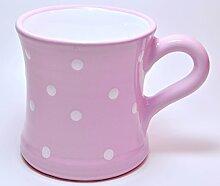 UNGARNIKAT Keramik Becher/Kaffeebecher rosa mit