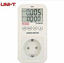 UNI-T UT230B Wattmeter Spannung Strom Tester Kosten Frequenz Power Meter Energieverbrauch Faktor Monitor CO2 Emission Detektor
