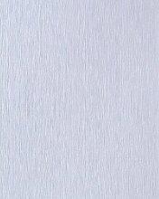 Uni Tapete EDEM 141-02 Elegante Tapete Vinyltapete leicht gestreift hell blau hell violett mit perlmutt-effek