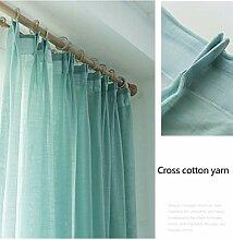 Uni-Vorhang,Halbtransparenter Vorhang