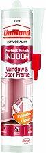 UniBond 2078407Innen Fenster und Türrahmen Kartusche–durchscheinend, weiß, 2078408