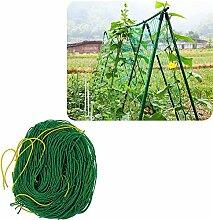 UniEco Pflanzennetz Gartennetz Stütznetz Nylon-Gitter Netz Pflanze Unterstützung für Kletterpflanzen, Rebe und Veggie Spalier Ne