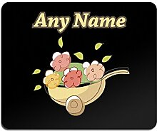Unigift Mauspad mit Blumenkarre, personalisierbar