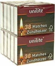 unilite® von na-und® Streichhölzer 380 Holz
