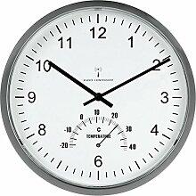 Unilux Tempus Quartz Wall Clock Kreis Aluminium,