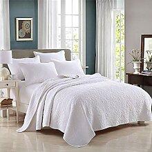 Unimall 3 teilige Bettüberwurf Tagesdecke Set