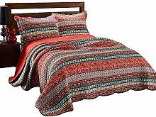 Unimall 4507334 Tagesdecke Baumwolle Sofaüberwurf